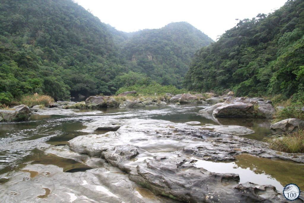 Near the Kanbire and Mariyudu waterfalls