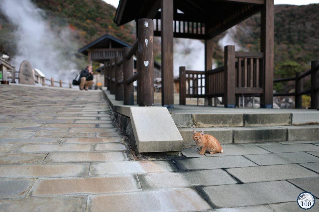 Unzen onsen