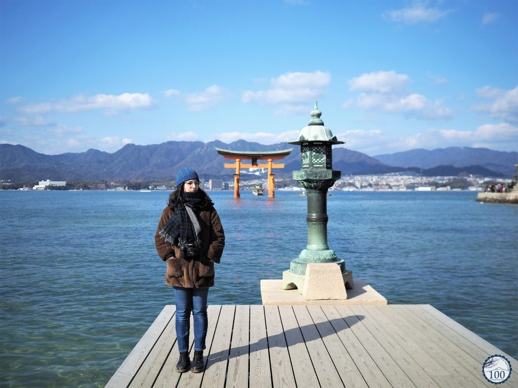 Chilly wind in Miyajima island.