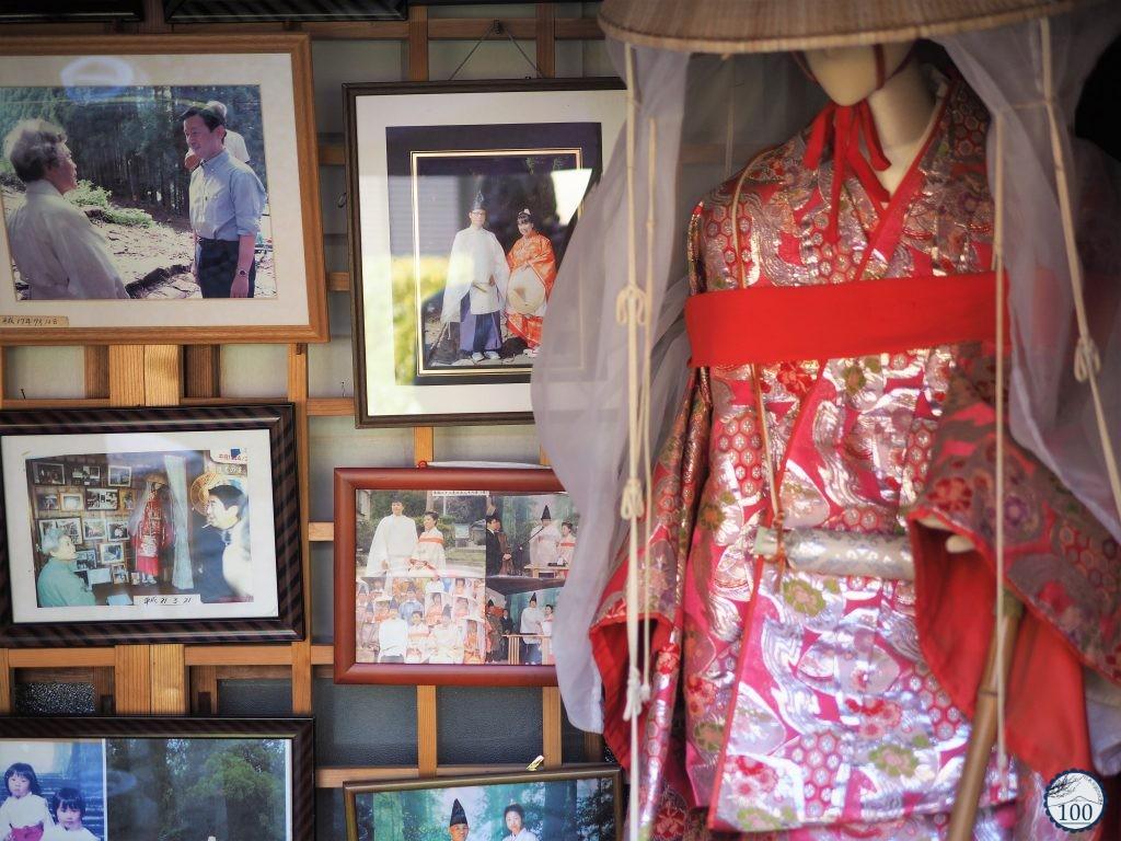 Kumano Kodo - Nachi costume heian