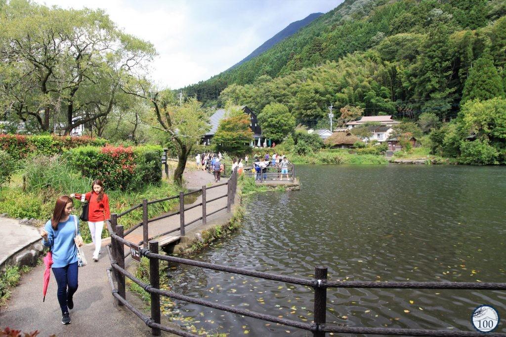 Autour du lac Kirinko, à Yufuin.