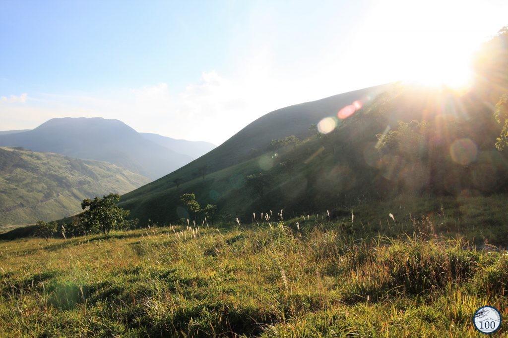 En redescendant du mont Yufu, à Yufuin.