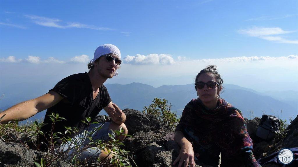 Au sommet du mont Yufu, à Yufuin