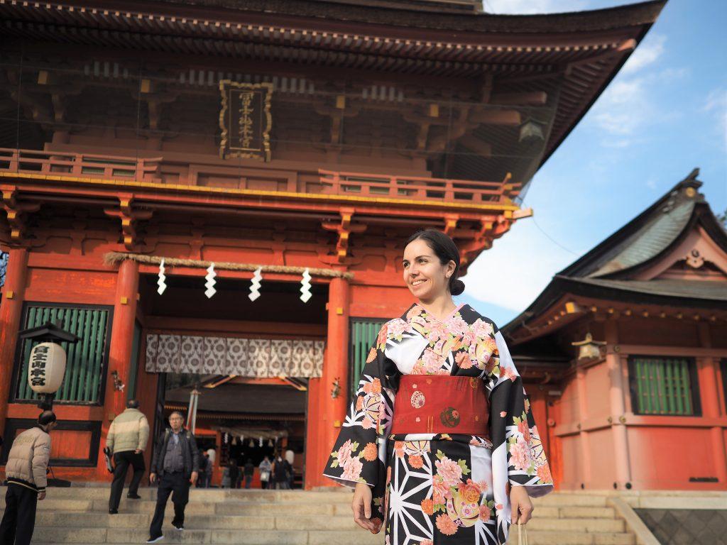 Aurélie Roperch in Fujinomiya.
