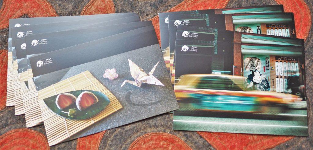Deux cartes postales offertes