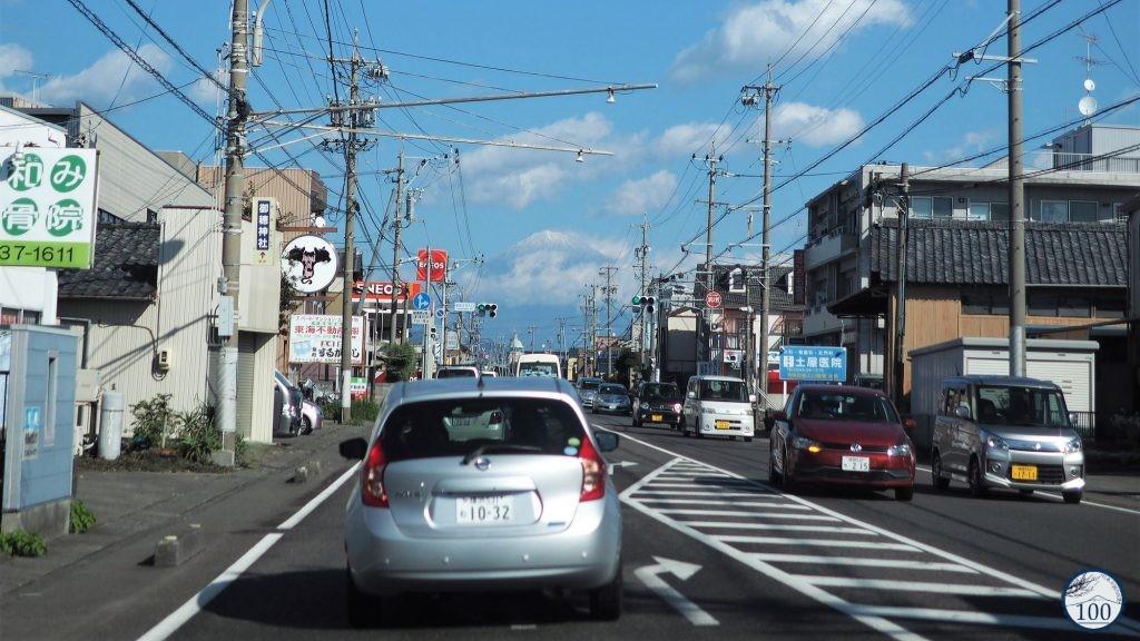 Conduire au Japon - Fuji